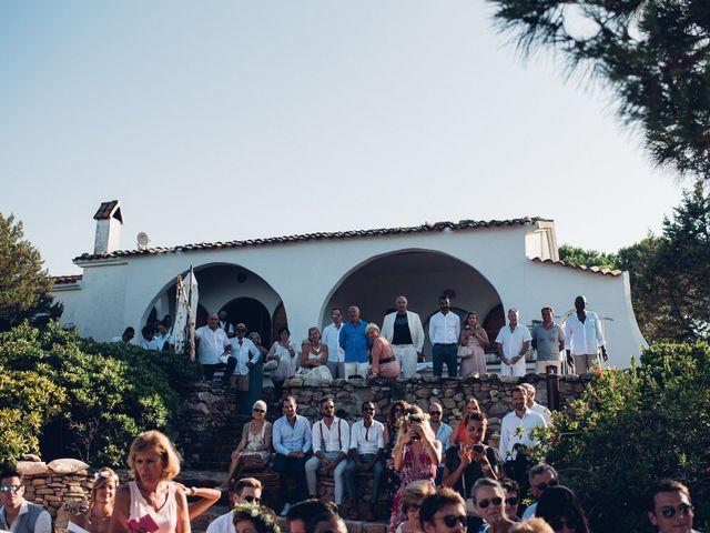 Il matrimonio di Thomas e Aurélie a Porto Cervo, Sassari 47