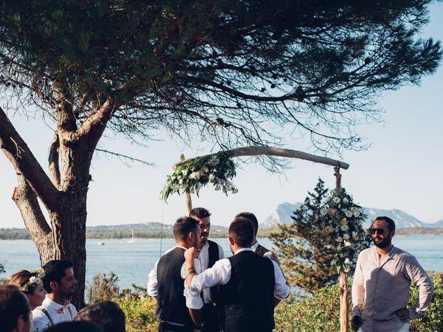 Il matrimonio di Thomas e Aurélie a Porto Cervo, Sassari 58