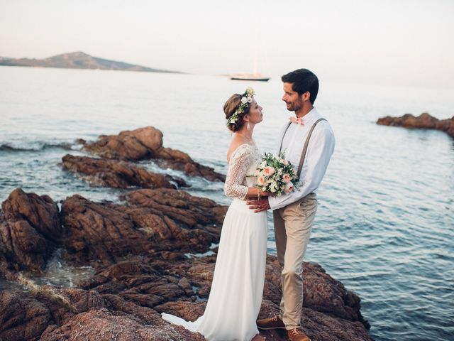 Le nozze di Aurélie e Thomas