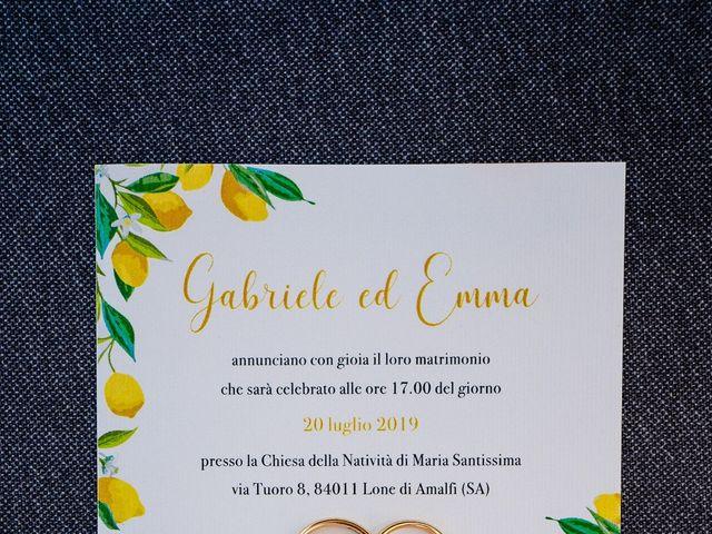 Il matrimonio di Gabriele e Emma a Amalfi, Salerno 3