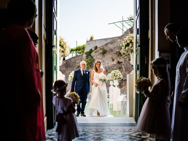 Il matrimonio di Gabriele e Emma a Amalfi, Salerno 33