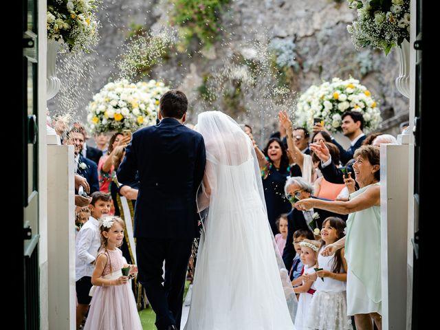 Il matrimonio di Gabriele e Emma a Amalfi, Salerno 44