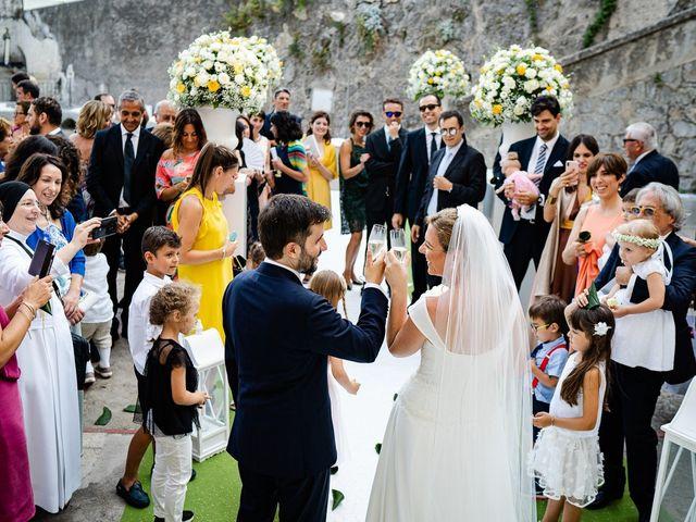 Il matrimonio di Gabriele e Emma a Amalfi, Salerno 45