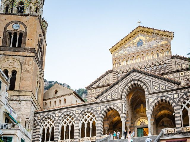 Il matrimonio di Gabriele e Emma a Amalfi, Salerno 57