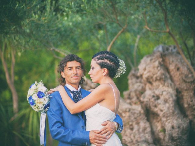 le nozze di Pamela e Valter