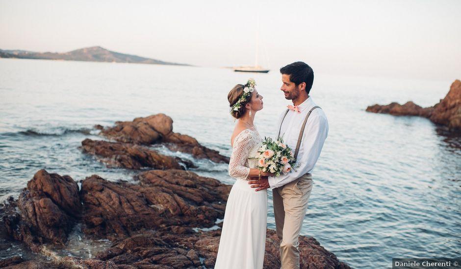 Il matrimonio di Thomas e Aurélie a Porto Cervo, Sassari