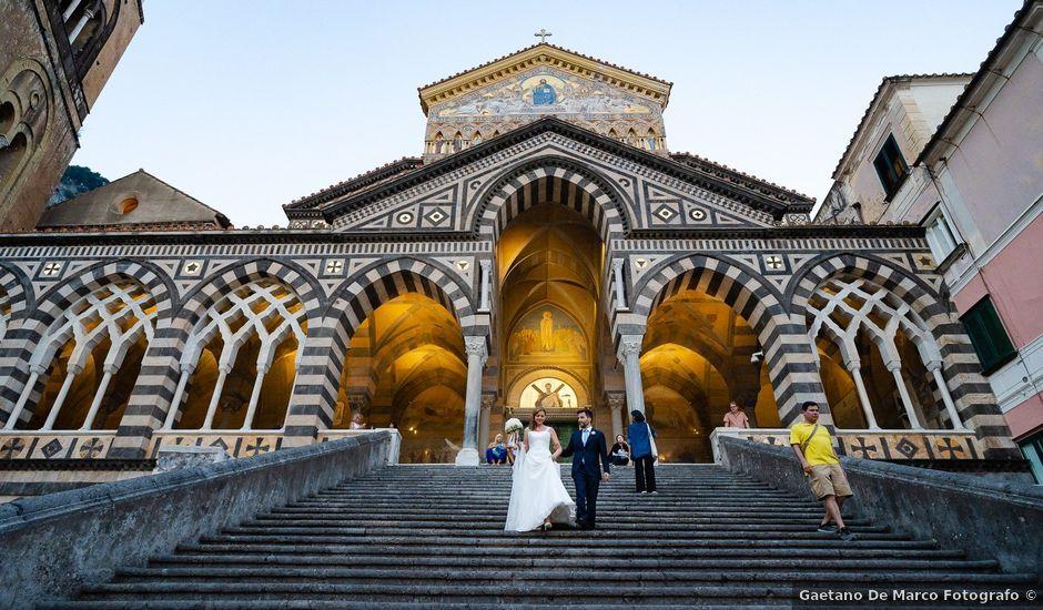Il matrimonio di Gabriele e Emma a Amalfi, Salerno