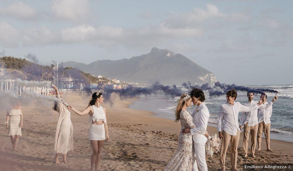 Il matrimonio di Sara e Riccardo a Sabaudia, Latina