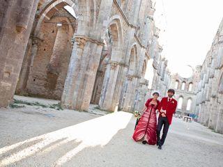 Le nozze di Kiki e Fabrizio