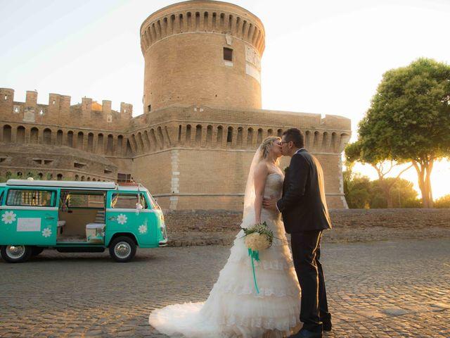 le nozze di Fabiana e Marco