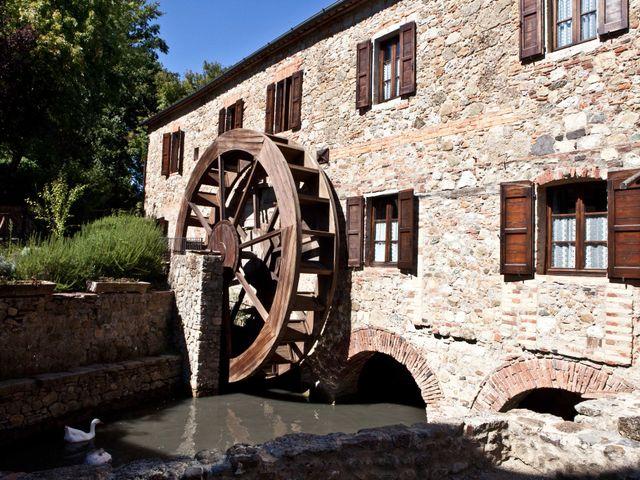 Il matrimonio di Fabrizio e Kiki a Chiusdino, Siena 19