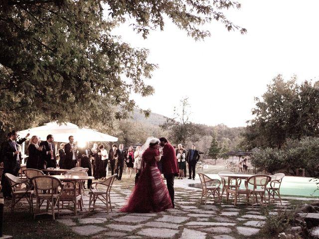 Il matrimonio di Fabrizio e Kiki a Chiusdino, Siena 22