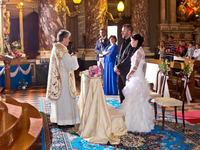 Il matrimonio di Alex e Nunzia a Romanengo, Cremona 31
