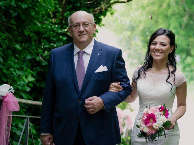 Il matrimonio di Davide e Marica a Stradella, Pavia 14
