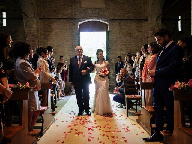 Il matrimonio di Davide e Marica a Stradella, Pavia 16