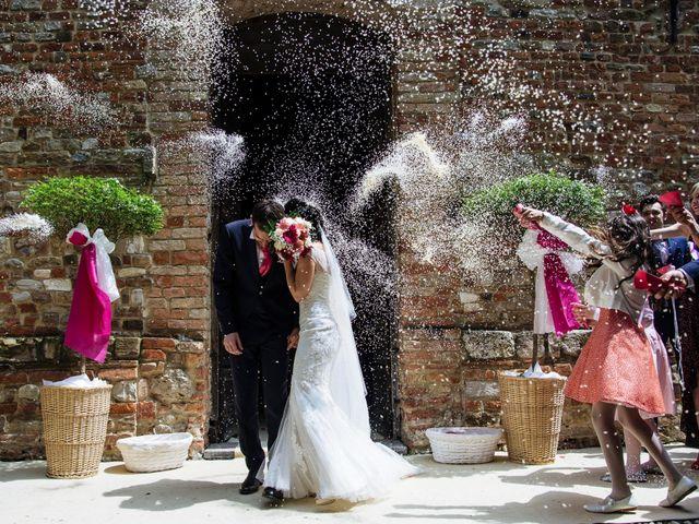 Il matrimonio di Davide e Marica a Stradella, Pavia 20