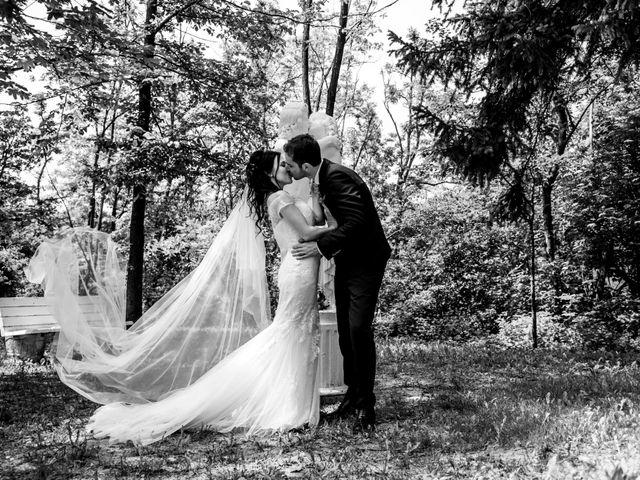 Il matrimonio di Davide e Marica a Stradella, Pavia 27