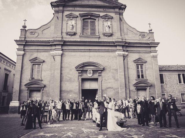 Il matrimonio di Luca e Eleonora a Ostellato, Ferrara 11