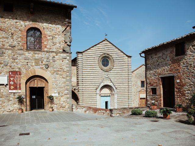 Il matrimonio di Luca e Federica a Lucignano, Arezzo 1