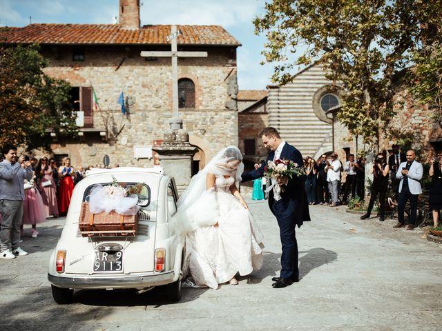 Il matrimonio di Luca e Federica a Lucignano, Arezzo 3