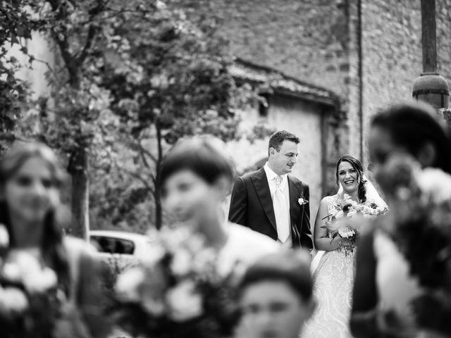Il matrimonio di Luca e Federica a Lucignano, Arezzo 4
