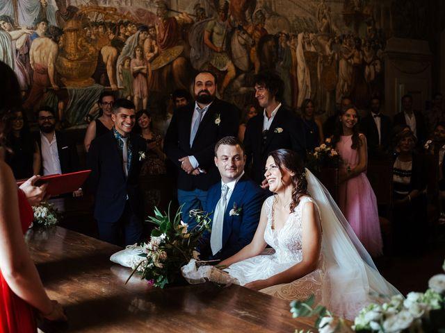 Il matrimonio di Luca e Federica a Lucignano, Arezzo 7