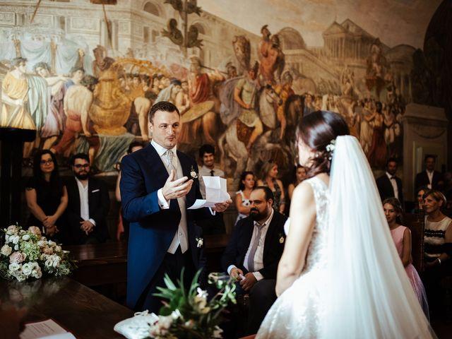 Il matrimonio di Luca e Federica a Lucignano, Arezzo 10