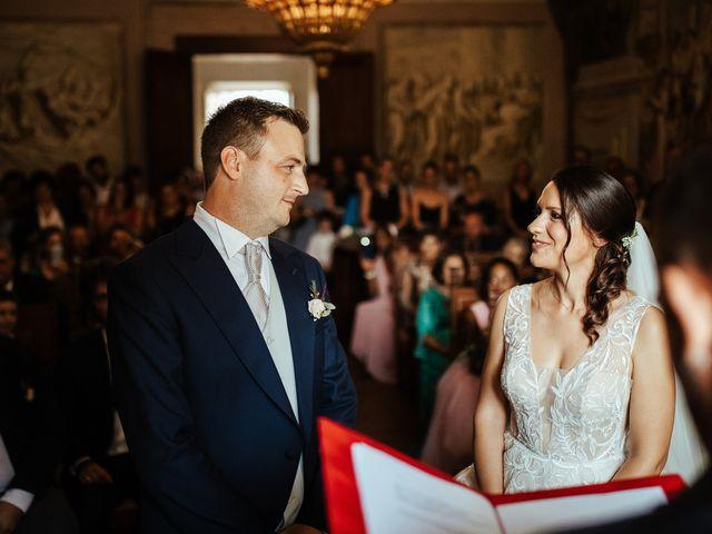 Il matrimonio di Luca e Federica a Lucignano, Arezzo 11