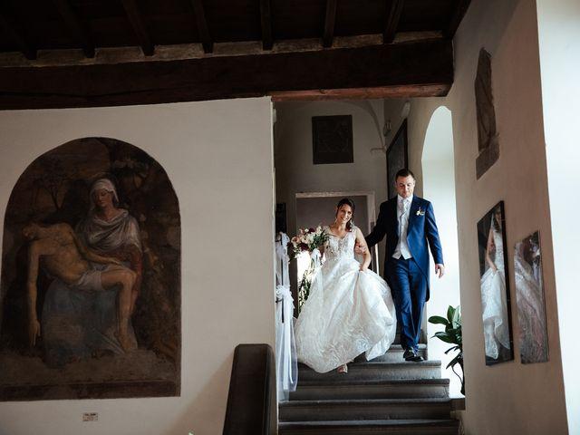 Il matrimonio di Luca e Federica a Lucignano, Arezzo 23