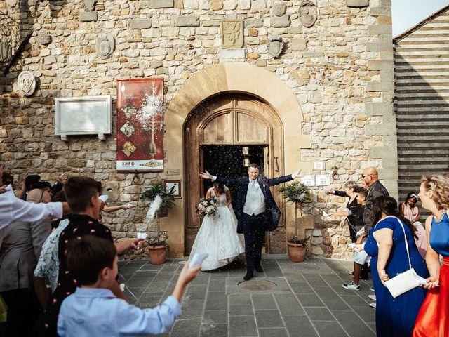 Il matrimonio di Luca e Federica a Lucignano, Arezzo 24