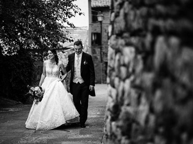 Il matrimonio di Luca e Federica a Lucignano, Arezzo 27