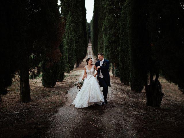 Il matrimonio di Luca e Federica a Lucignano, Arezzo 32