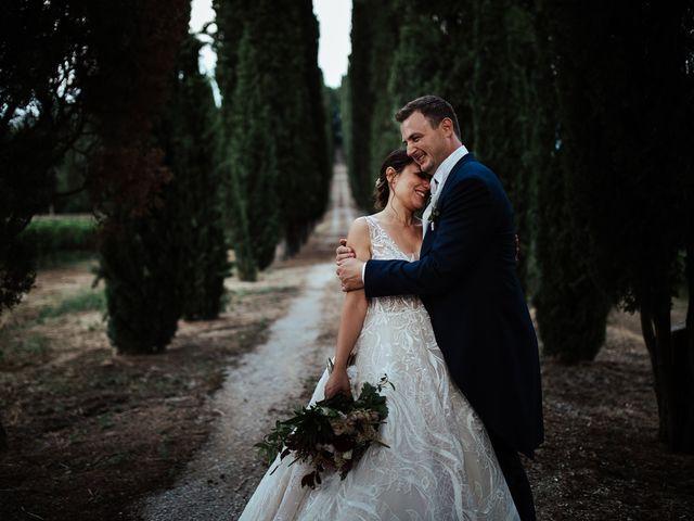 Il matrimonio di Luca e Federica a Lucignano, Arezzo 33