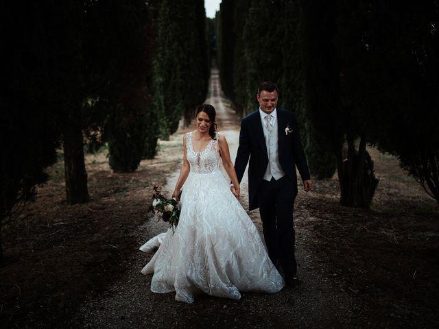 Il matrimonio di Luca e Federica a Lucignano, Arezzo 34