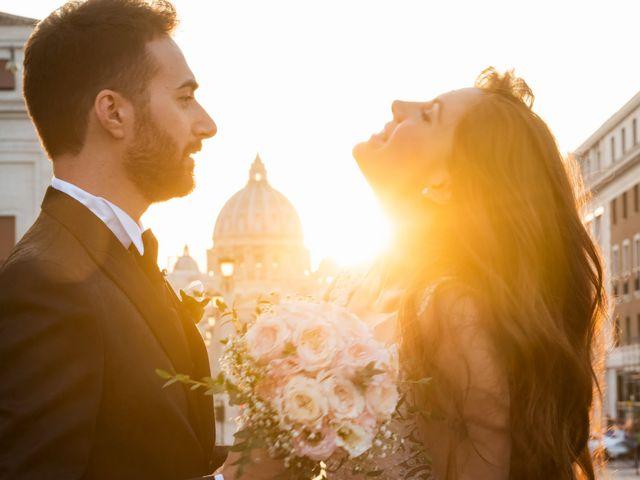 Il matrimonio di Gina e Gabriele a Roma, Roma 1