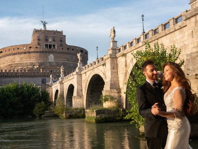 Il matrimonio di Gina e Gabriele a Roma, Roma 2