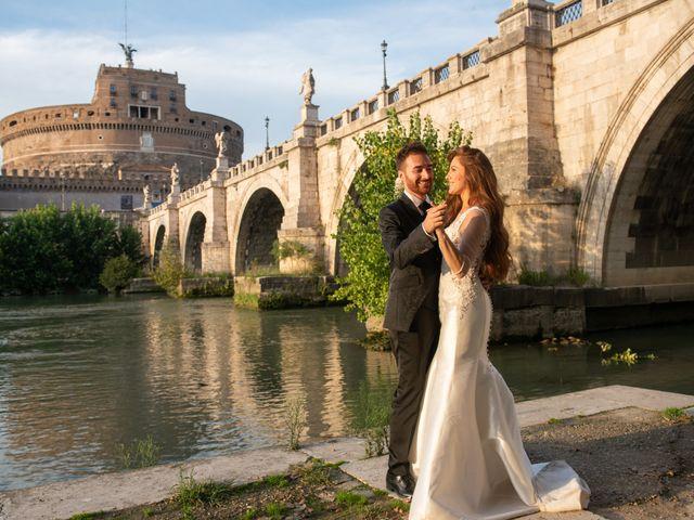 Il matrimonio di Gina e Gabriele a Roma, Roma 26