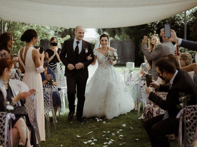 Il matrimonio di Mattia e Dorothy a Castrezzato, Brescia 33