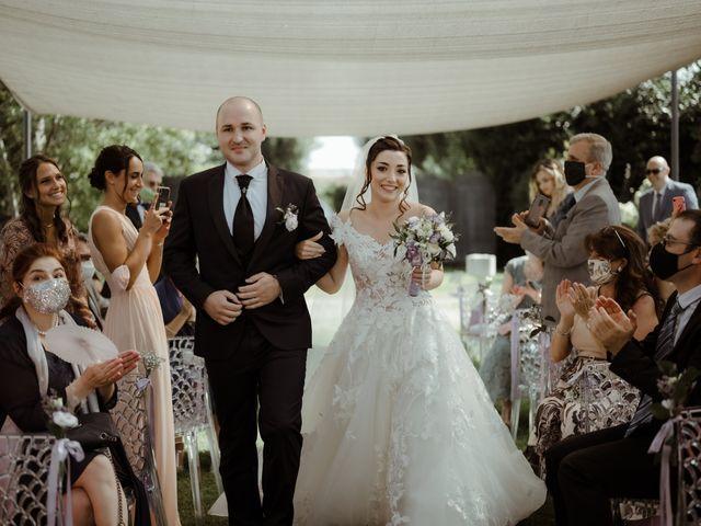Il matrimonio di Mattia e Dorothy a Castrezzato, Brescia 34