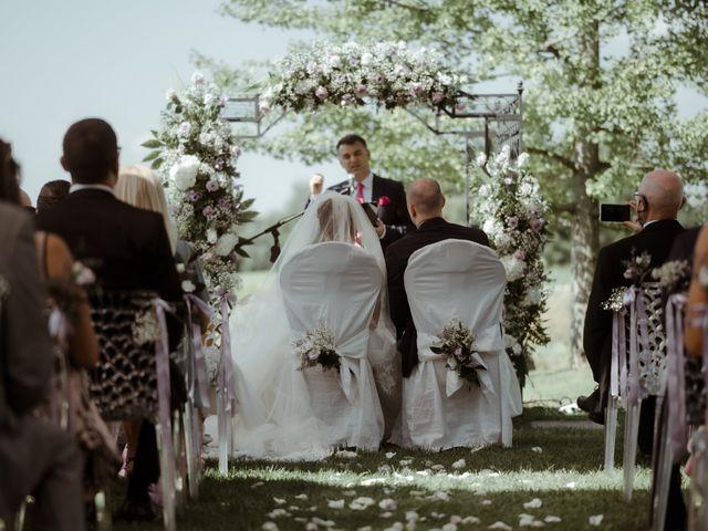 Il matrimonio di Mattia e Dorothy a Castrezzato, Brescia 35