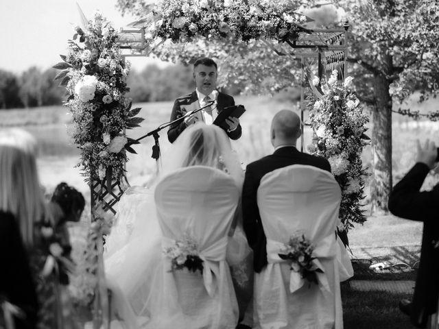 Il matrimonio di Mattia e Dorothy a Castrezzato, Brescia 36