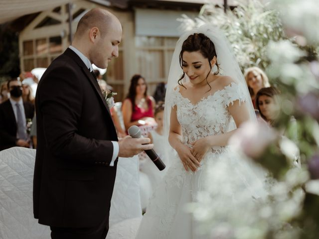 Il matrimonio di Mattia e Dorothy a Castrezzato, Brescia 37