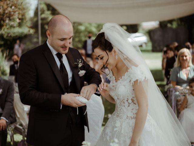 Il matrimonio di Mattia e Dorothy a Castrezzato, Brescia 39