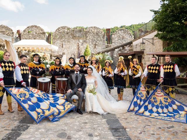 Il matrimonio di Antimo e Evelyn a Limatola, Benevento 128