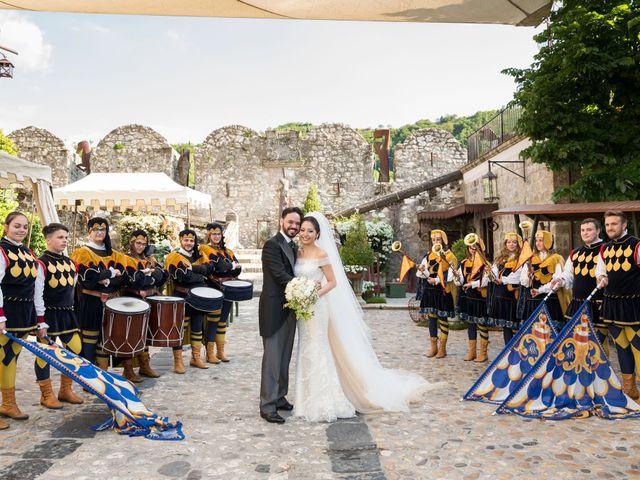 Il matrimonio di Antimo e Evelyn a Limatola, Benevento 129
