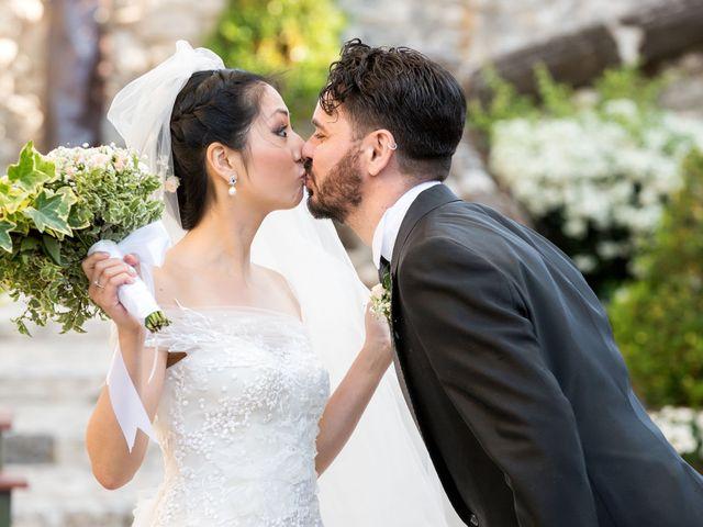 Le nozze di Evelyn e Antimo