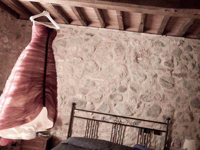 Il matrimonio di Fabrizio e Kiki a Chiusdino, Siena 1