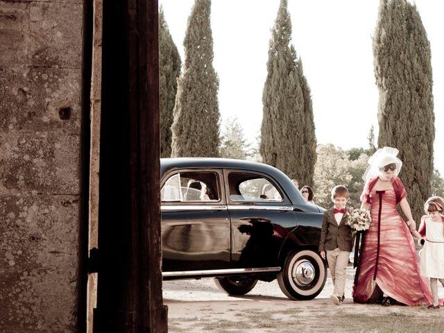 Il matrimonio di Fabrizio e Kiki a Chiusdino, Siena 7