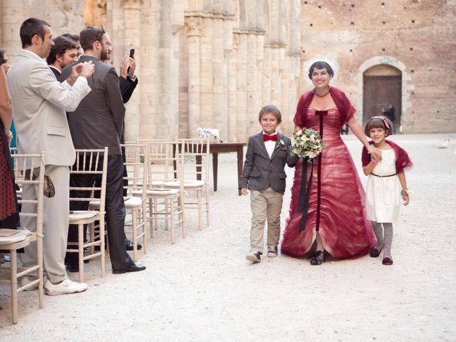 Il matrimonio di Fabrizio e Kiki a Chiusdino, Siena 8