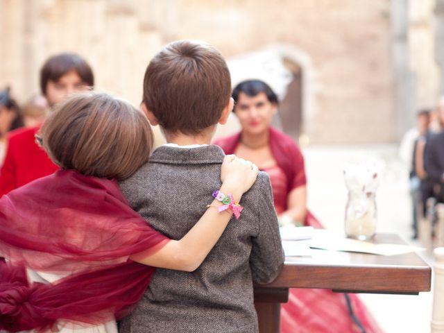 Il matrimonio di Fabrizio e Kiki a Chiusdino, Siena 9